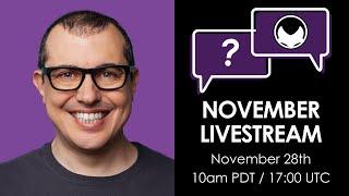Bitcoin and Open Blockchain Open Topic - Nov 2020 Livestream aantonop