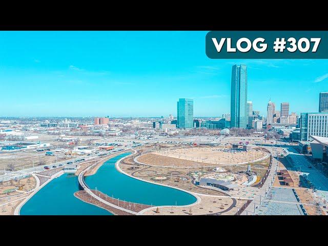 VLOG #307 / Scissortail Park at OKC / March 19, 2021