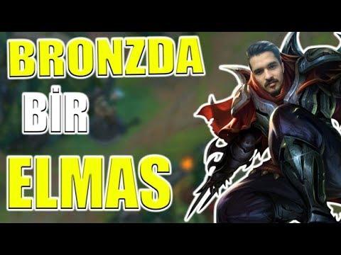 Bronzda Bir Elmas - Gölgelere Meme Aç - League of Legends