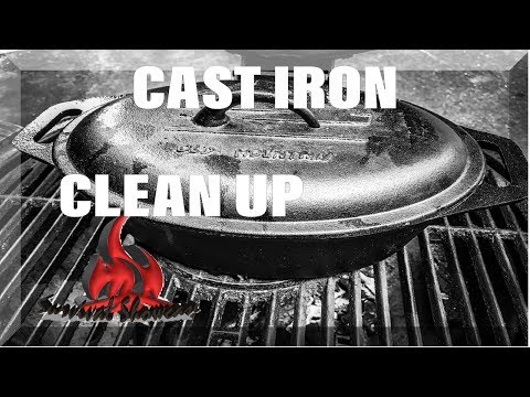Cleaning Rust from Cast Iron