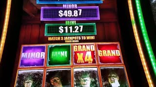 The Walking Dead 2 Slot Machine Jackpot Bonus Win !!! Max Bet Live Play