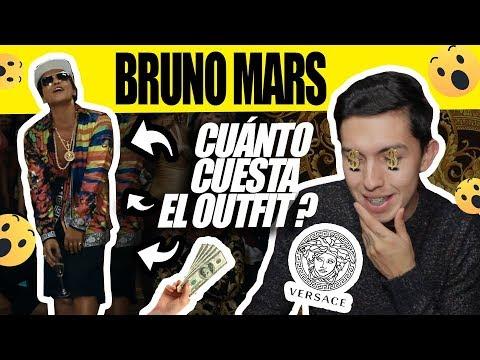 Cuanto Cuesta La Ropa De Un Famoso? Bruno Mars -VICTOR CABALLERO