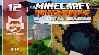Minecraft Dimensions : Elemental Dragons (S4) | Ep.12 - Retour sur Skylia