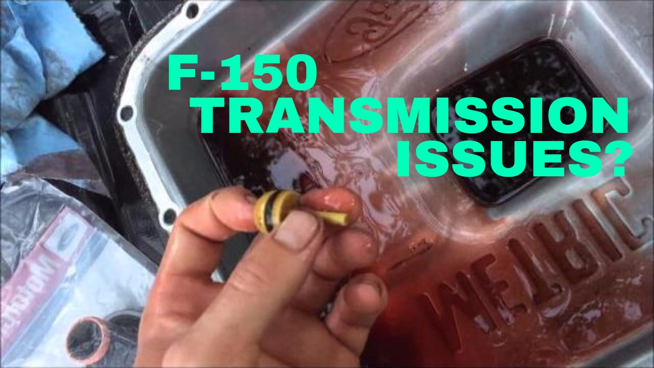 Ford F  Transmission Problems Service Flush S When Shifting Into Gear Video