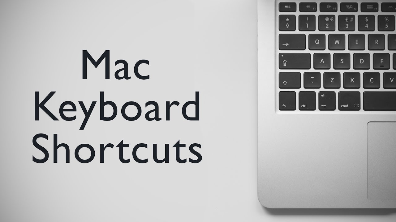 20 Cool Mac Keyboard Shortcuts You Must Know
