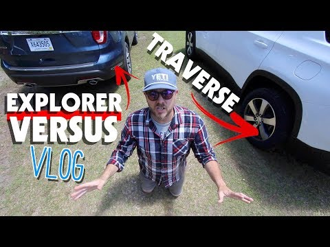 ⚫ 2018 Ford Explorer Limited VS 2018 Chevrolet Traverse 3LT | Versus Review & Auto Vlog