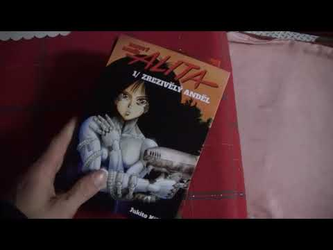 ALITA  -  manga komiks - battle angel - bojový anděl