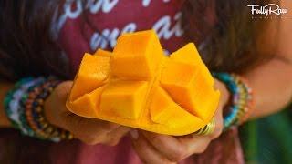 How to Cut a Mango in 15 Seconds!
