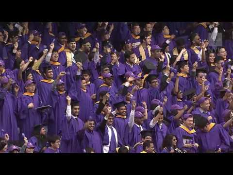 2016 NYU Commencement Academic Procession
