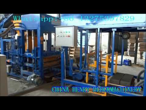 How to produce high quality of standard solid bricks by automatic block making machine