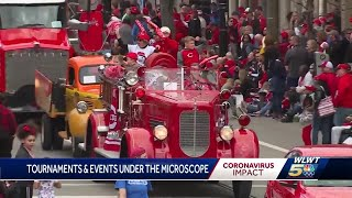 Events, parades, tournaments under microscope due to COVID-19