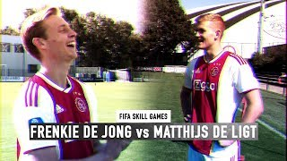 FIFA SKILL GAMES BATTLE #4 | FRENKIE DE JONG vs MATTHIJS DE LIGT