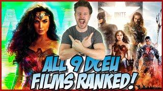 All 9 DCEU Films Ranked! (w/ Wonder Woman 1984)