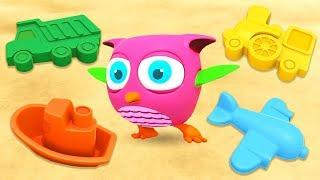 Brinca com HopHop a coruja! Coleção. Animação infantil.