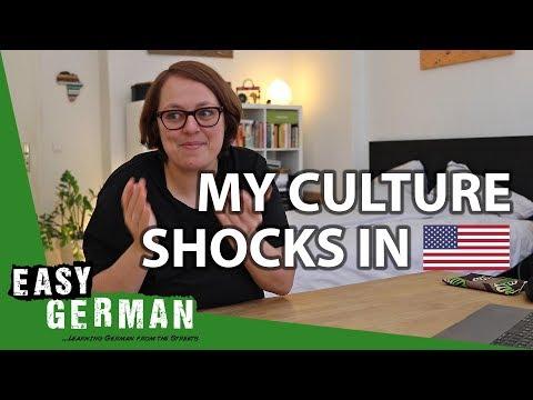 🇩🇪GERMAN IN THE 🇺🇸US: My 6 Culture Shocks | Easy German 277