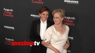 """Julia Roberts and Meryl Streep """"August: Osage County"""" Los Angeles Premiere Red Carpet"""