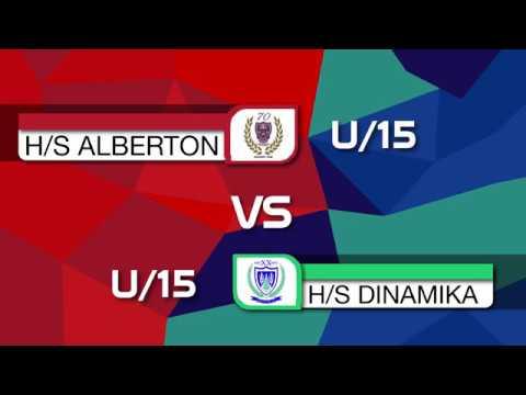 HS Alberton u15 vs HS Dinamika u15   First Half