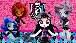 Compilation Monster High Ghouls Doll Custom with My Little Pony Equestria Girls Minis