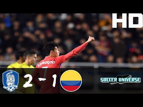 South Korea vs Colombia 2-1 All goals & Highilights 10-11-2017