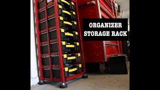 Parts Organizer Storage Rack