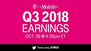 T-Mobile Q3 2018 Earnings Call: Behind-the-Scenes Livestream