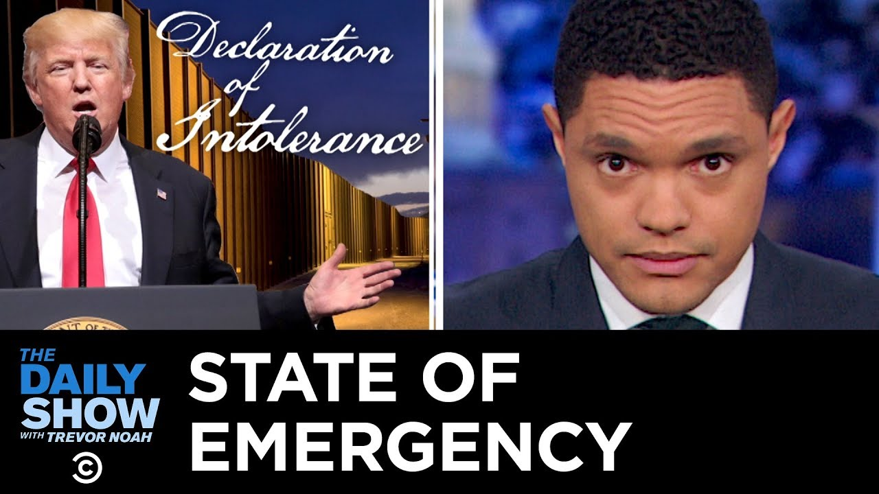 Here's What Will Happen if Trump Declares a State of Emergency | The Daily Show