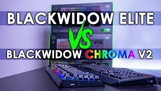 Razer BlackWidow Elite vs BlackWidow Chroma V2