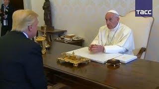 Дональд Трамп впервые встретился с папой римским Франциском