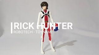 Magios Initiative-Review-Robotech Rick Hunter by Toynami. #Mediaz