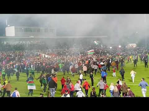 Cork City clinch 2017 league title (one minute in)