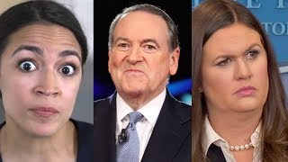 Ocasio Cortez just shredded Mike Huckabee and his daughter after Huckabee attacked her on Twitter