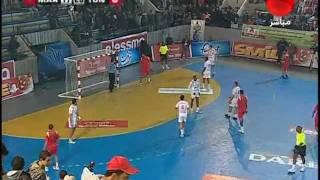 كاس افريقيا لكرة اليد 2012 تونس تفوز على المغرب 26-18