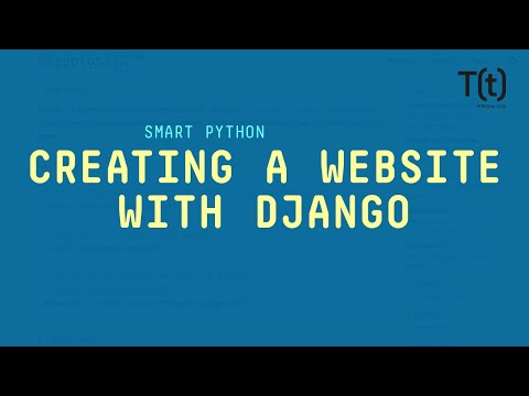Creating a simple website with the Django framework