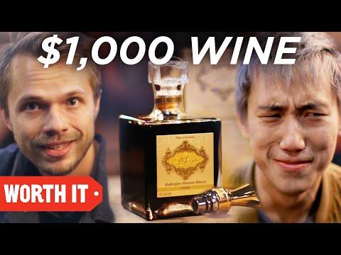 $18 Wine Vs. $1,000 Wine