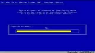 Instalacion de Windows Server 2003