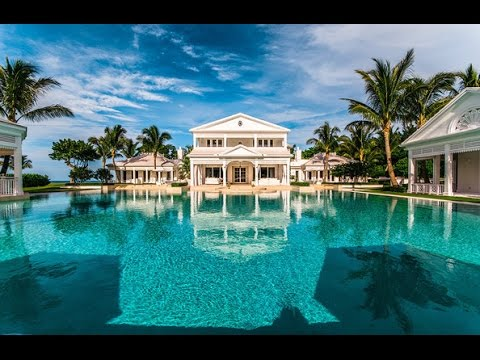 Celine Dion's House - What a Classic House Design with Private Waterpark in Florida