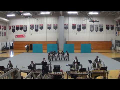 Pennridge High School Indoor Drumline at Hatboro Horsham High School 2/9/19