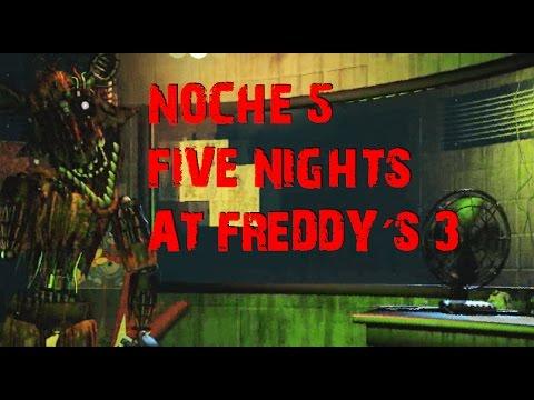 Truco para pasar la Noche 5 en Five Nights At Freddy´s 3