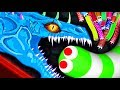 Slither.io - NOOB SNAKE vs. PRO MONSTER SNAKE // Epic Slitherio Gameplay (Slitherio Funny Moments)
