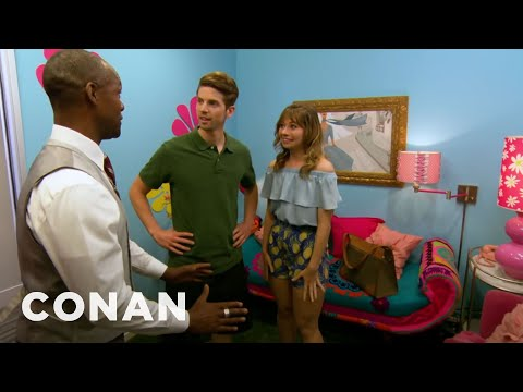 An Exclusive Look Inside The Barbie-Themed Hotel Room - CONAN on TBS