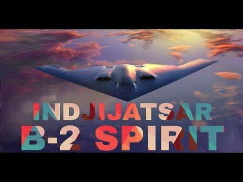 B-2 Spirit US Air Force Stealth Bomber 2018 HD/HQ