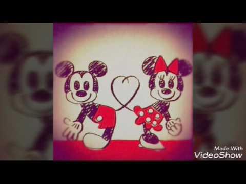 Minnie E Mickey Juntos Muito Fofo Youtube