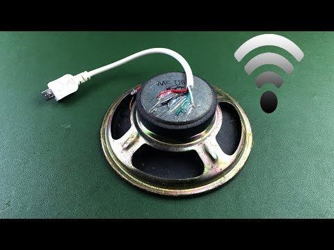 Free WiFi Internet Any Phone for Generator with Spark Plug Using Magnets