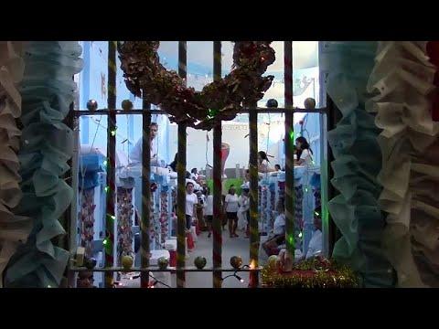 شاهد: سجينات برازيليات يتحدين الظروف ويحيين عيد الميلاد وسط أجواء احتفالية…  - 14:54-2018 / 12 / 14