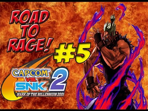 Road To Rage! Shin Akuma (Capcom vs SNK 2) Part 5 - 동영상