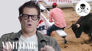 Johnny Knoxville Breaks Down Every Injury of His Career | Vanity Fair thumbnail