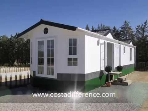 Park home for sale Spain. Residential mobile home park near Malaga 129LP