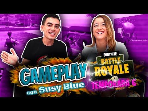 (Strip) Gameplay FORTNITE. Una partida perdida, prenda caída. Con Susy Blue (F*NAL FELIZ)