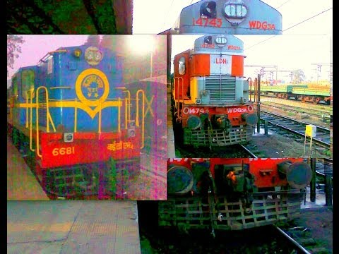 CRANKING & START-UP of ALCo 251 series Diesel Engines of INDIAN RAILWAYS' LOCOMOTIVES