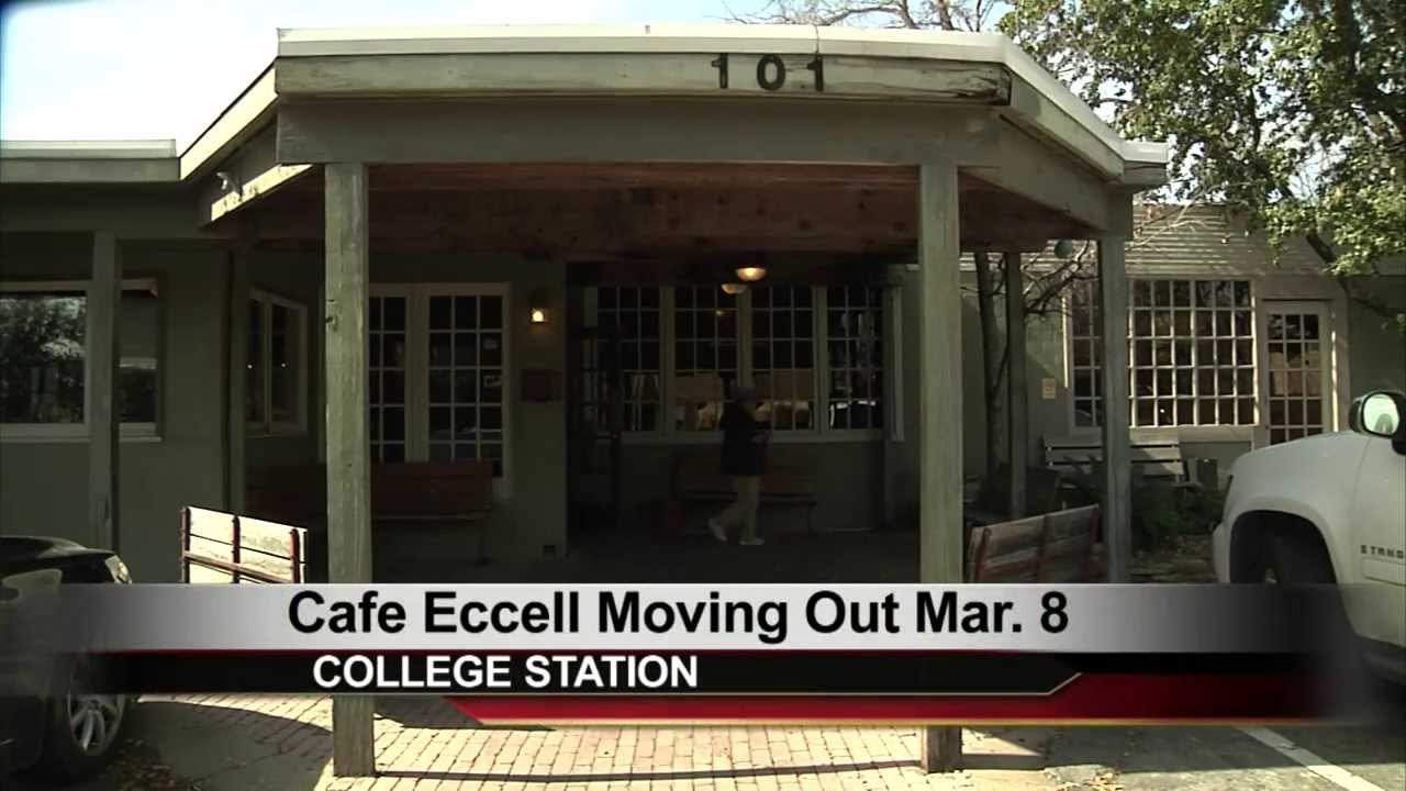 cafe eccell closing in march youtube